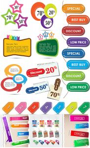 colored-vector-labels-on-paper