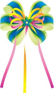 Colored vector rosette
