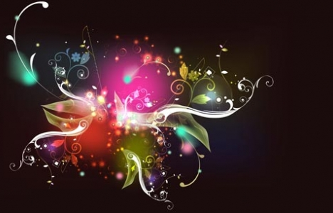Colorful vector templates