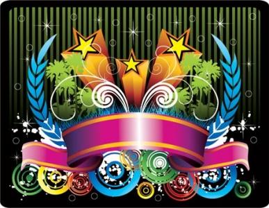 Colorful vector design