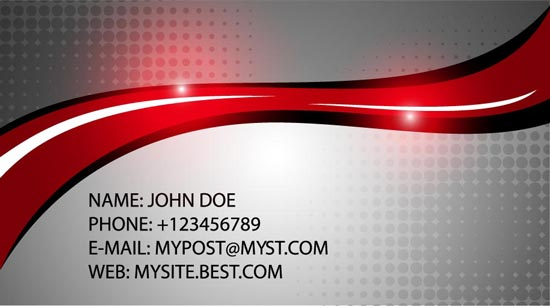 Companies business cards vector templates from red ones to blue and black you can find some very elegant ideas out there interesting enough this selection of company business cards is worth cheaphphosting