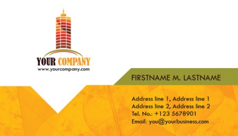 Construction Business Cards Psd Models - Construction business card templates download free