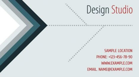 Corporate business cards template