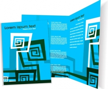 Corporate leaflets design