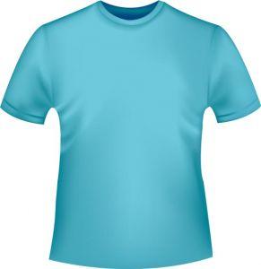 Costumes and tshirts vector materials