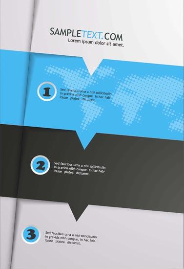 creative brochure cover vectors