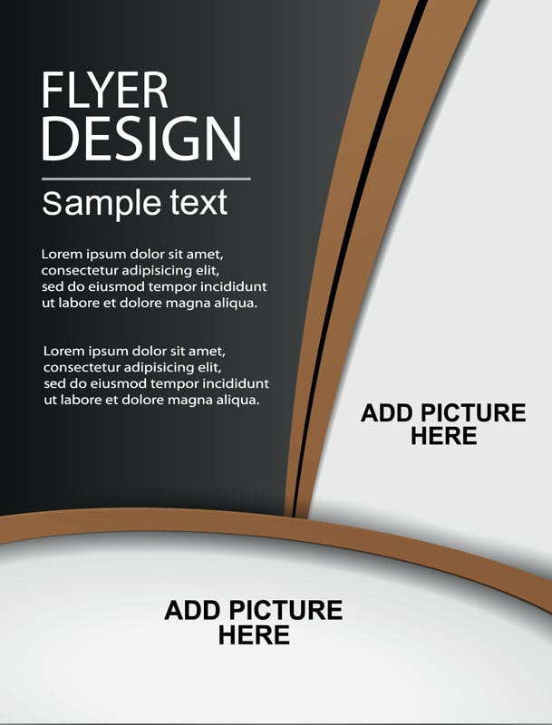 Creative brochure covers vector design for Brochure cover designs