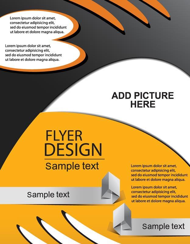 Creative Book Cover Design Eps : Creative brochure covers vector design