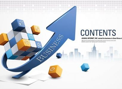 Creative business content vector