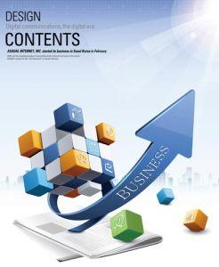 Creative business content design