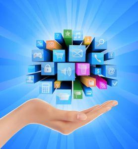 Creative internet technology vectors