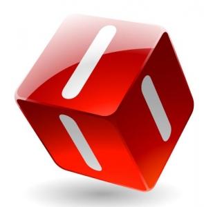 Cube model template