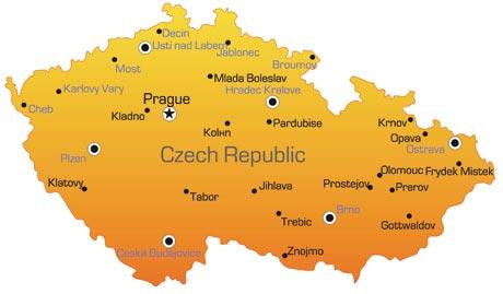 Czech Republic Map - Czech republic map