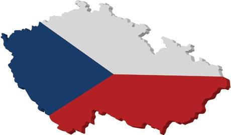 Czech Republic vector map