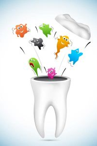 Dental care vector cartoons