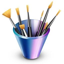 Designer portfolios psd icon