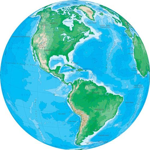 Different angles of earth vector from just about any angle and if you are good at this you can even create revolving picture of the globe its just up to you how you want to use it gumiabroncs Images
