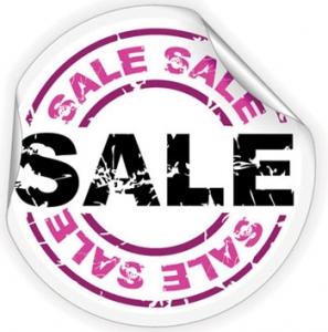 Discount vector label