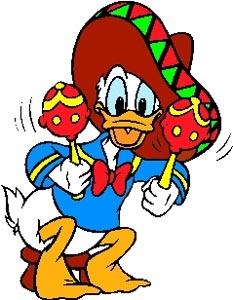 Donald Duck clipart