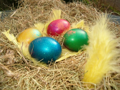 Easter eggs image