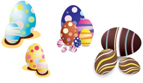 Easter eggs design