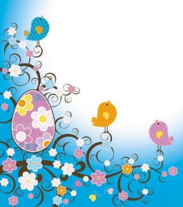 Easter vector design