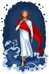 easter-with-jesus-vector-template4