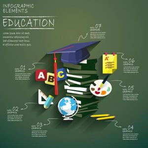 education-vector-illustration-background1