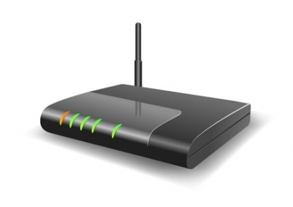 Router vector template