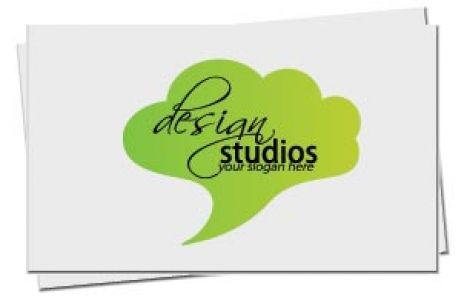 Elegant business card back