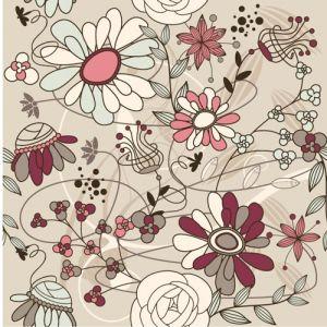 Elegant floral patterns vector