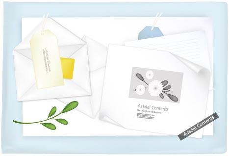 Envelope paper card models