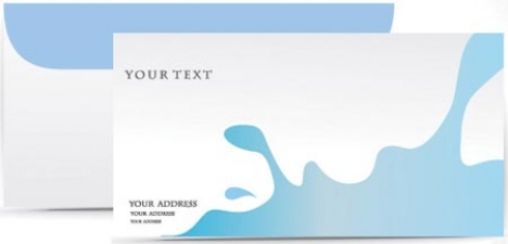 Envelope vector template