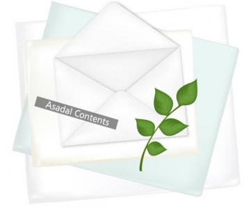 Envelope vector layout