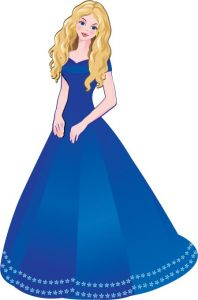 Fairy princesses cartoon vectors
