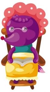 Fairy tale cartoon caracter vector