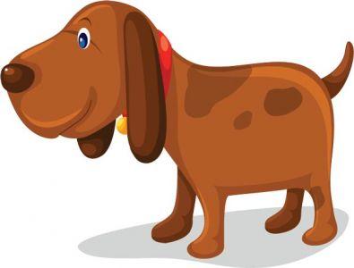 Dog vector cartoon