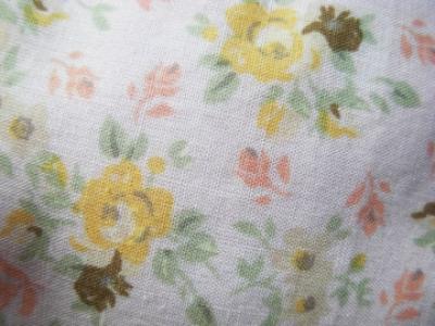 Floral paper texture