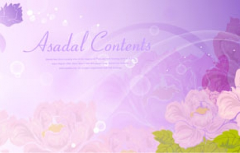 Flower banners design