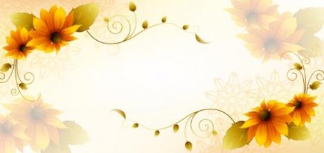 Flower spring flyer
