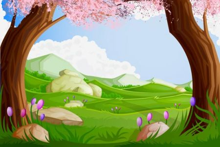 Forest and jungle landscapes vector
