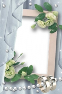 Frame wedding layout