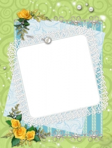 Frame wedding design