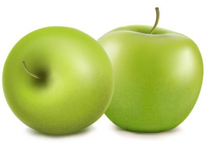Fresh apple vector design