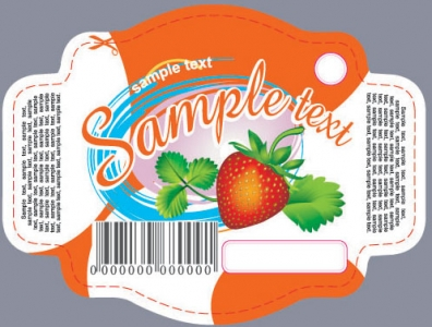 Fruit label design