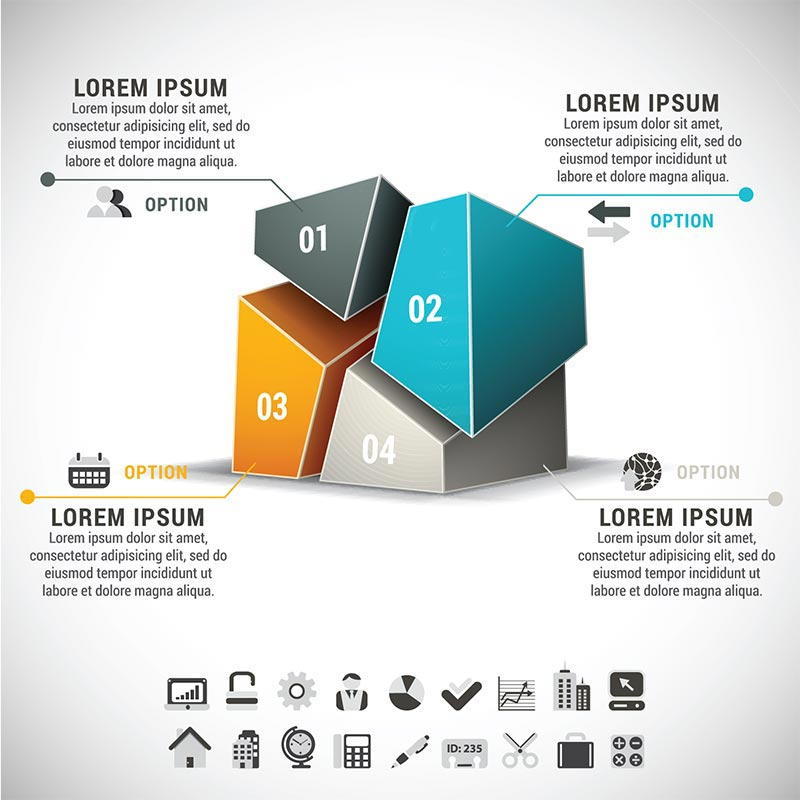 vectors for infographics