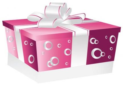 Gift box vector template