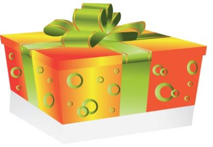 Gift box vector design
