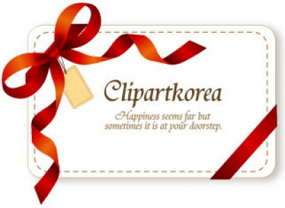 Gift label card