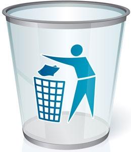 Glass bin vector